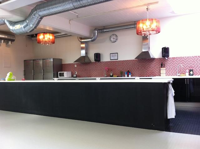 Stockholm Hostel keuken