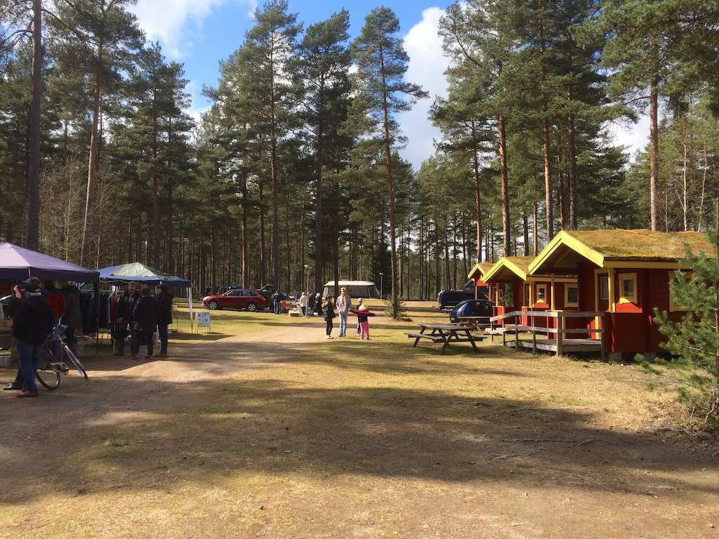 Loppmarknad op Råda Camping