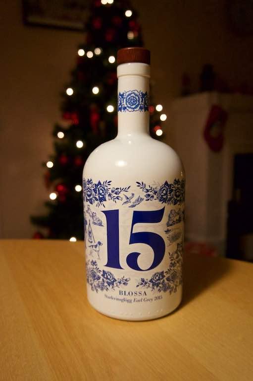 Blossa Glögg heeft ieder jaar een andere smaak en zit ook telkens in een andere fles.
