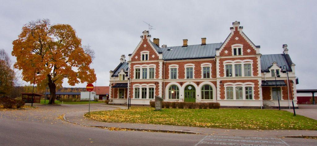 Het station van Vansbro