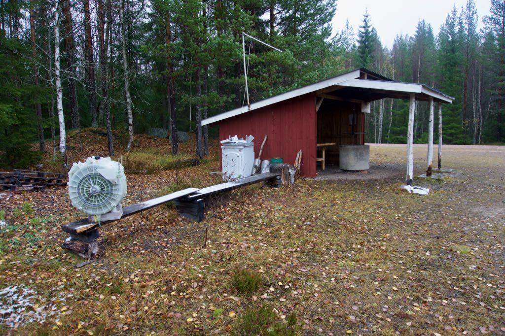 Witgoedreparaties in het bos?